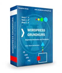WordPress Grundkurs – Akademie Online 24