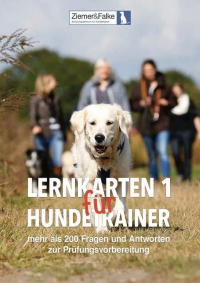 Lernkarten 1 für Hundetrainer – Ziemer & Falke