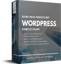 Deine Website mit WordPress – Top Class Marketing