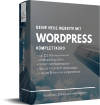 Deine Website mit WordPress – Top Class Marketing