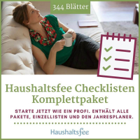 Checklisten Komplettpaket – Haushaltsfee Claudia Windfelder
