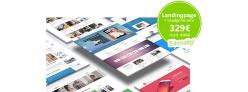 Landingpage für Umzugsunternehmen mit Kostenrechner